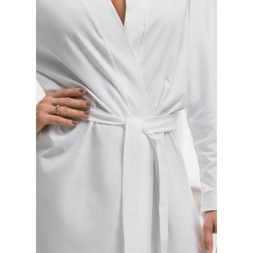 plus size-2108 White Children Cotton Robe New Arrivals-Nine X