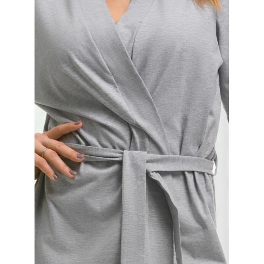 plus size-2108 Grey Children Cotton Robe New Arrivals-Nine X