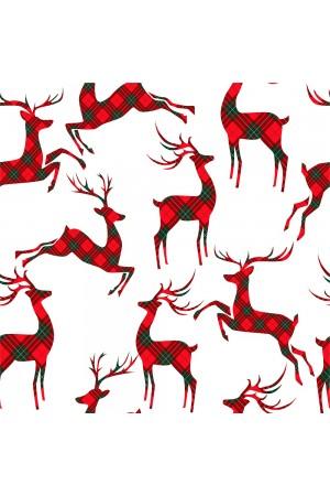 Pattern no 7 Nine X Satin Women's Christmas Pyjama