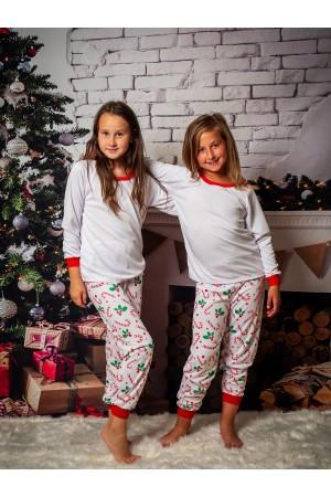 Pattern no 21 Nine X ThermoActive 100% Polyester Children Christmas Pyjama Set