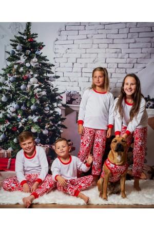 Pattern no 20 Nine X ThermoActive 100% Polyester Children Christmas Pyjama Set