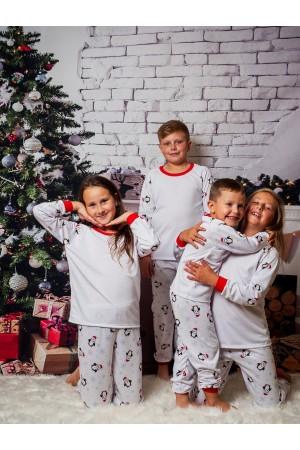 Pattern no 4 Nine X ThermoActive 100% Polyester Children Christmas Pyjama Set