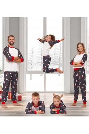Pattern no 8 Nine X ThermoActive 100% Polyester Men's Christmas Pyjama