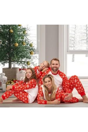 Pattern no 5 Nine X 100% Cotton Snowflakes Children Christmas Pyjama