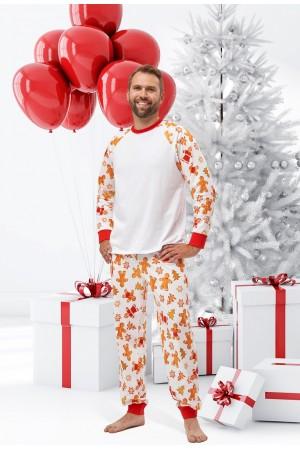 Pattern no 11 Nine X 100% Cotton Men's Christmas Pyjama