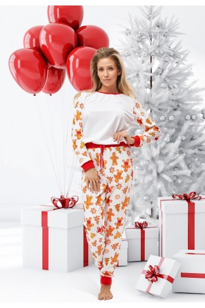 Pattern no 11 Nine X 100% Cotton Women's Christmas Pyjama