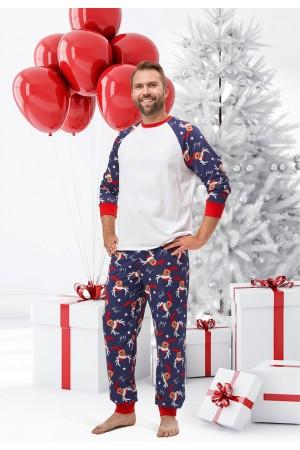 Pattern no 13 Nine X 100% Cotton Men's Christmas Pyjama