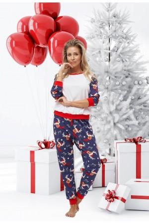 Pattern no 13 Nine X 100% Cotton Women's Christmas Pyjama
