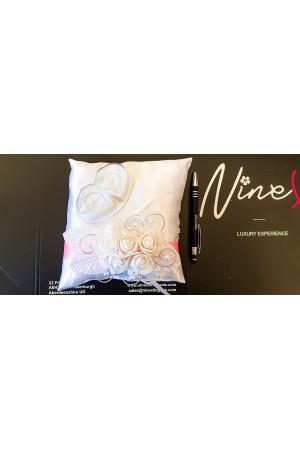 Nine X  handmade wedding rings pillows