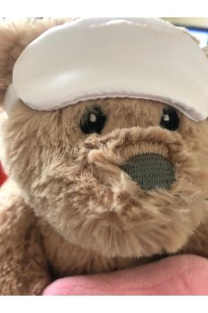 333 Nine X Teddy Bear Eye Mask