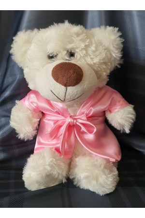 """511 Nine X dressing gown for """"little bridesmaid teddies""""  Baby Pink"""
