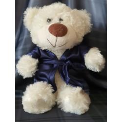 "511 Nine X dressing gown for ""little bridesmaid teddies""  Navy"