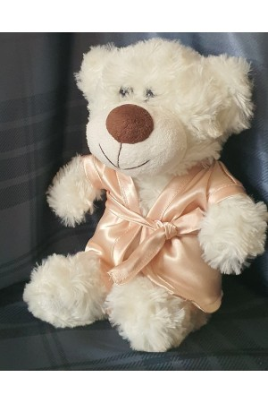 "511 Nine X dressing gown for ""little bridesmaid teddies""  Champagne"