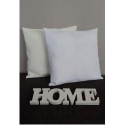 588 Nine X Cushion Covers White or Ecru 40x40cm