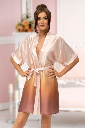 2131 Champagne Ombre Dressing Gown Size S-2XL