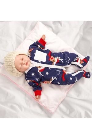 Pattern no 13 Nine X 100% Cotton Baby Sleepsuits