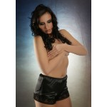 plus size-012 Sexy Black French Satin Knickers  S-3XL Briefs / Knickers-Nine X