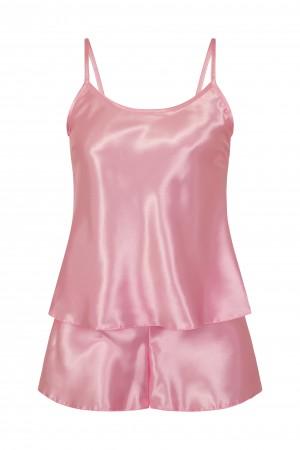 110 Baby Pink  Girls  Satin Cami Set pj's  Nightwear