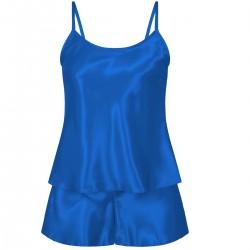 110 Blue  Girls  Satin Cami Set pj's  Nightwear