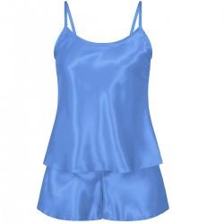 110 Light Blue Girls Satin Cami Set pj's Nightwear