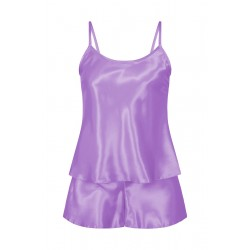 082 Plus Size Satin Cami Set S-6XL 8-24 Lilac