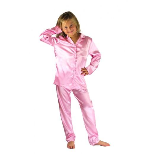 Nine X Boys Girls Kids Satin Long Sleeve Pyjamas pj's Age ...