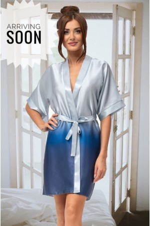 2105 Ombre Dressing Gown