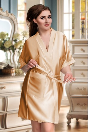 CLEARANCE OLD SHADE OF Gold DRESSING GOWN 2106