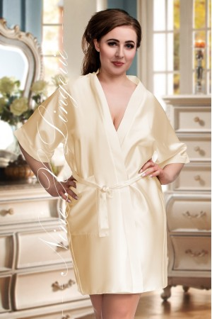 CLEARANCE OLD SHADE OF Champagne(1) DRESSING GOWN 2106