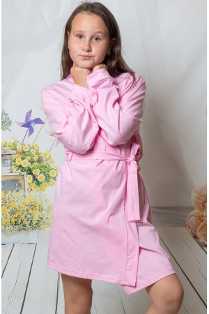 2108 Baby Pink Children Cotton Robe ***Discontinued***