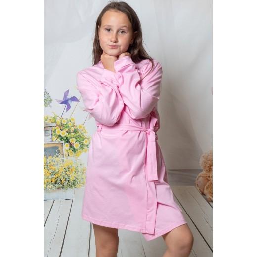 plus size-2108 Baby Pink Children Cotton Robe New Arrivals-Nine X