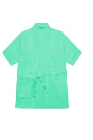 3107 Mint Children Satin Robe
