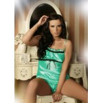 plus size-008 Satin Cami Set Mint S - 6XL Cami Sets-Nine X